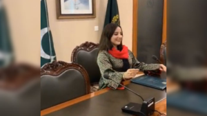 Yes, I'm Hareem Shah who dared seating in PM's chair