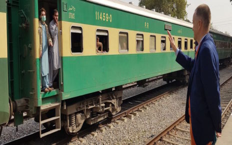 German envoy lauds Pakistan Railways services
