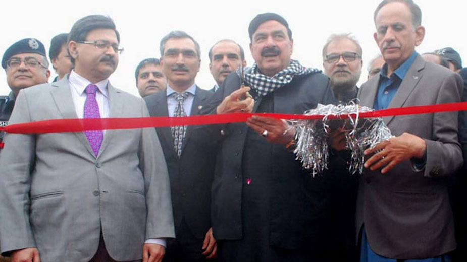 ML-I railway track to be extended to Jalalabad: Sheikh Rashid