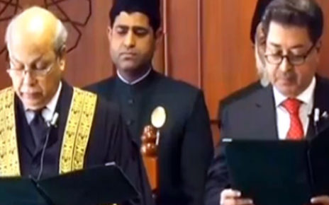Newly appointed CEC takes oath