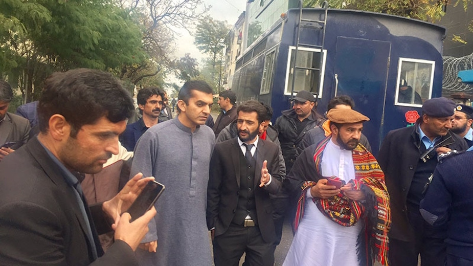 PTM's Dawar released; 23 others sent to Adiala Jail
