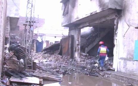 Perfume factory blast takes 11 lives