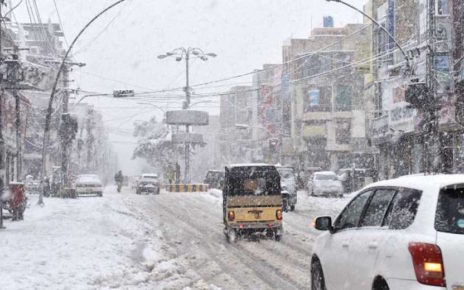 zhob heavy snowfall collapse