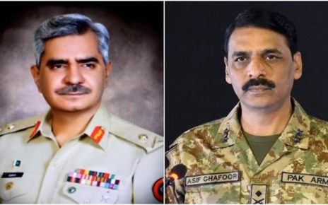 chiefs of mi ispr changed in shuffle