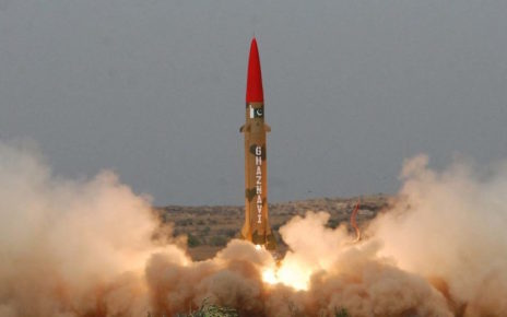pakistan successfully conducts surface to surface training launch of missile ghaznavi