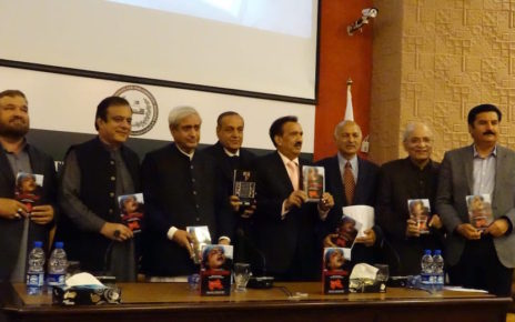 """Bleeding Kashmir"" launched by Rehman Malik"