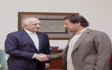 ISLAMABAD, Tuesday, February 18, 2020 (WNP): U.S. Special Representative for Afghanistan Reconciliation Zalmay Khalilzad visited Islamabad on February 17-18. He spoke at a UNHCR-sponsored conference marking 40 years of Pakistan's support to Afghan refugees and met with UN Secretary General Guterres to discuss the Afghan peace process. He also held meetings with Prime Minister Khan, Foreign Minister Qureshi, Chief of Army Staff General Bajwa, and other senior officials to discuss U.S. efforts to facilitate a political settlement to end the war in Afghanistan. He welcomed Pakistan's ongoing efforts to support a reduction in violence that will pave the way for a U.S.-Taliban agreement, intra-Afghan negotiations, and a comprehensive and permanent ceasefire in support of a sustainable peace.