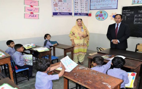 ISLAMABAD, Monday, February 24, 2020 (WNP): Progressive Education Network (PEN) Chief Executive Officer (CEO) Dr Najeeb Khan Monday visited its adopted model schools in Bhara Kahu. During meetings with the heads and teachers of different schools, he was briefed about the problems faced by them. Dr. Najeeb vowed to improve facilities in the schools as soon as possible. He also visited classrooms, science and computer labs where he had interactive sessions with the students. Giving tips to improve the labs prevailing condition, he agreed to send a PEN assessment team to bring them at par with international standard. He also planted saplings at 'PEN Nursery Corners' established to highlight the importance of plants in human lives and provide an healthy activity to the students.