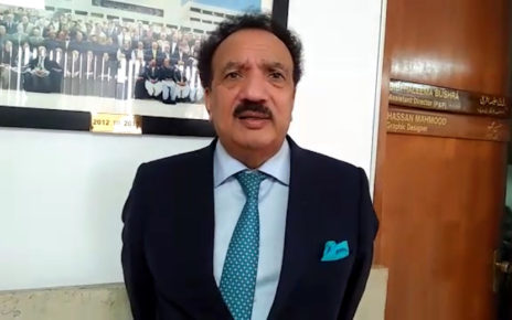 Coronavirus pandemic: Rehman Malik writes to UN urging to help removal Pakistan from FATF grey list