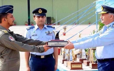 F-16 crashes during March 23 parade rehearsal, pilot martyred