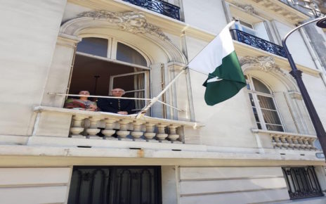 Pakistan Day marked; symbolic flag hoisting ceremony held in France