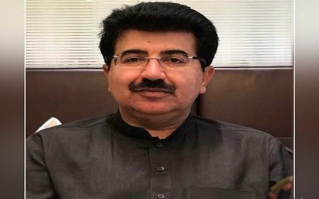 Sanjrani donates 3-month salary to emergency fund against coronavirus