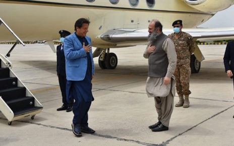 PM visits Quetta to review anti corona endeavors; hints worsening situation in days to come
