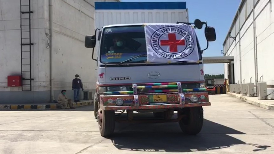 ICRC provides material, technical support to 4 KP hospitals to fight COVID-19