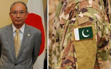 NW operation: Japanese envoy expresses grief, sorrow over loss of Pak-Army soldiers