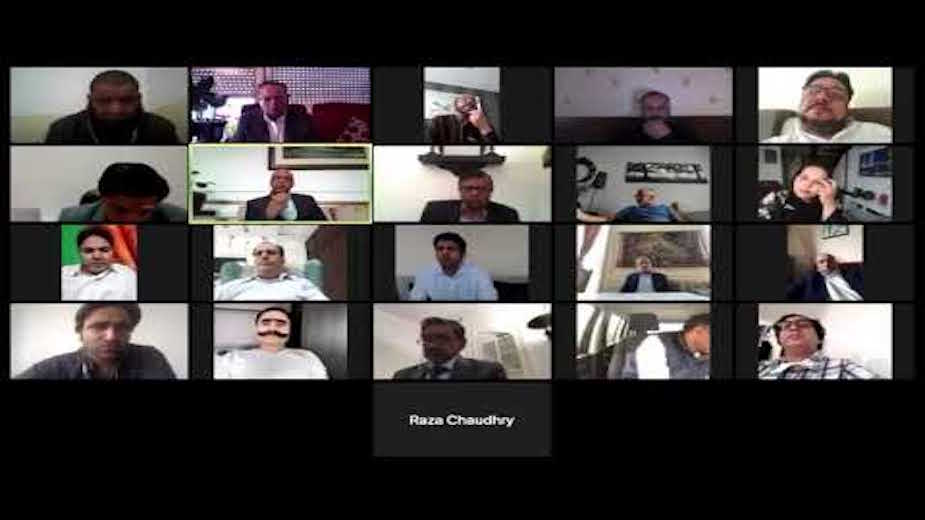 Pak envoy holds virtual meeting with France-based Pakistani journalists