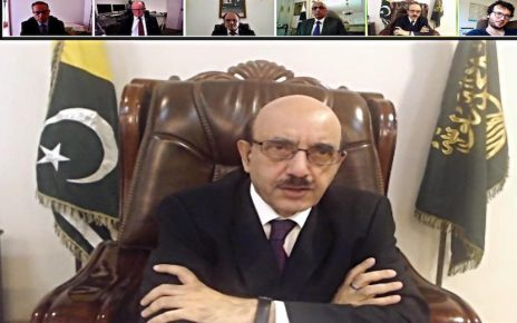 AJK president briefs French media on worsening humanitarian situation in IOJ&K