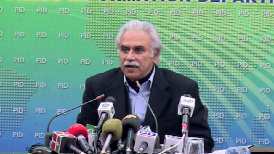 Dr Zafar Mirza tested positive for COVID-19