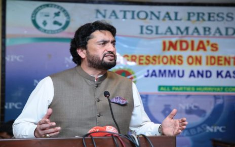 Draconian UAPA, other laws being used by India to shrink cyber space for Kashmiris: Shehryar Afridi