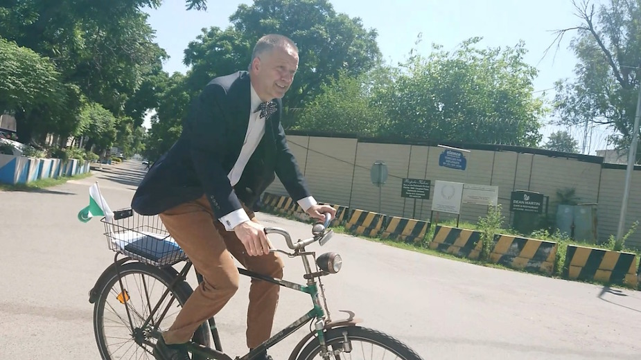 German envoy advocates adoption of cycling for its diversified benefits