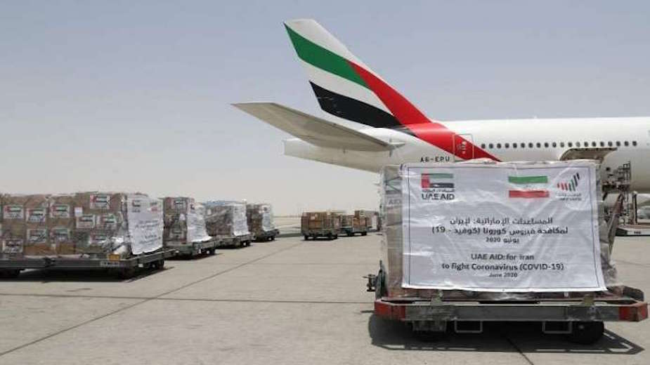UAE sends additional medical aid to Iran to contain COVID-19