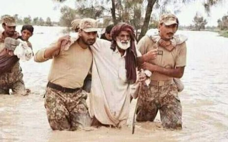Pakistan Army continues rescue, relief operation in flood-hit Dadu