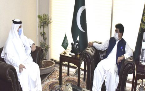 Pakistan, Saudi Arabia have always adopted unified response on int'l issues: Senate chairman