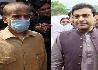 Shehbaz, Hamza released on parole to offer Begum Shamim's last rites